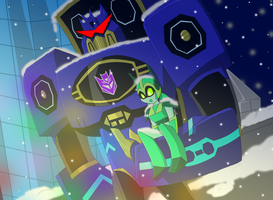 HappyNewYear-AniTransformers by BlackCatWhiteStar