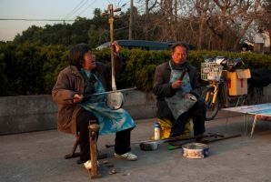 Chinese musicians by CunisiaInc