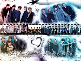 The Family of DBSK by vietgurl7d4