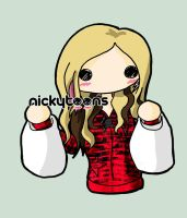 Avril Lavigne Shopping by NickyToons