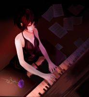 Piano Lesson by Yourself by Daidus