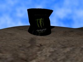 Crushed monster can by Thimix2