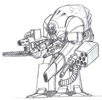 Death Bot 1 by 0verlordofyou
