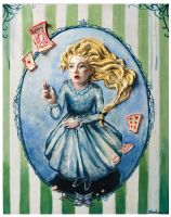 Alice and the Cards by puppeteer-for-kings