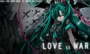 Wallpaper - Love is War by FastSpeedy