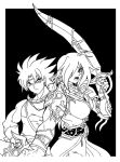 Bartz and Faris Ink by nightshide
