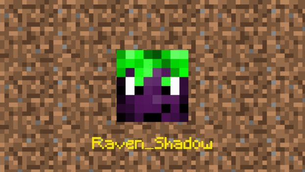 minecraft head project 1 Raven Shadow by h3video1RavenShadow