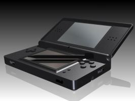Black DS Lite by Zyzic