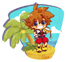 Silly Sora by Danime-chan