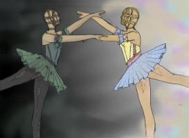 Mirrored Ballet by jclairem