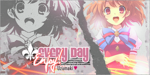 Firma - Every Day Enjoy by jazyuzumaki