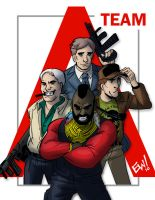 The A-Team by EryckWebbGraphics