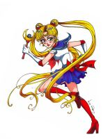 Sailor Moon by ArtsyMaria