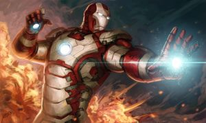 IRON MAN by Scyao