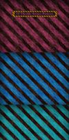 10 Stripes Texture Patterns by MuzikizumWeb