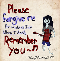 Please Remember Me by RoboticAlice58