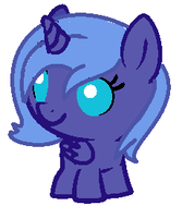Baby Luna by Flutter-SHED