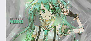 Firma - Miku with smudge by dolladollita