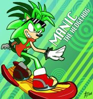 Sonic Riders - Manic by SonicFF
