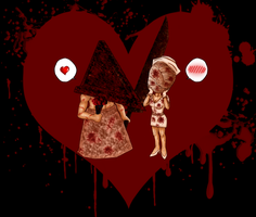 P x N Bloody Valentine by IveWasHere