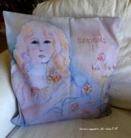 my first cushion cover by GeaAusten