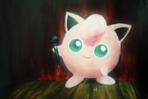 jiggly puff used encore! by pufflemon