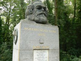 The Grave of Karl Marx by KaiHallarn111