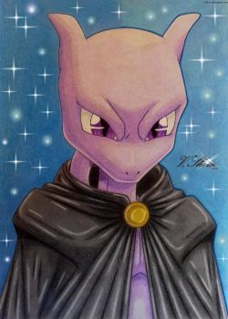 Mewtwo by Shi-m