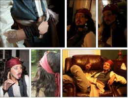 Jack Sparrow costume montage by SomewhatSavvy