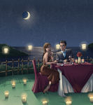 Fancy Dinner by silvachito