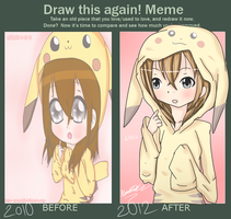 Draw this again meme by Aariesa-Adopts
