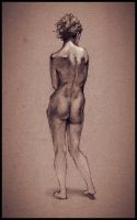Figure Drawing by MorgonTupp