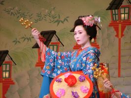 Gion Geisha Dance 2 by calger459