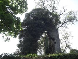 ruined arch stock by folipoo