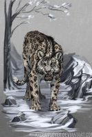 Isles of Eventide: Snow leopard by KFCemployee