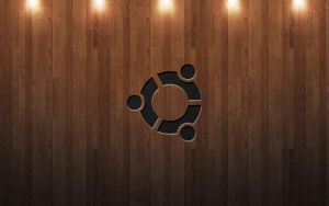 Ubuntu Wood with Lights by Accesske