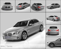 BMW 7-Series 2009 by peregrhino