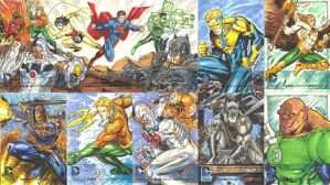 New 52 Sketch Cards by SaviorsSon