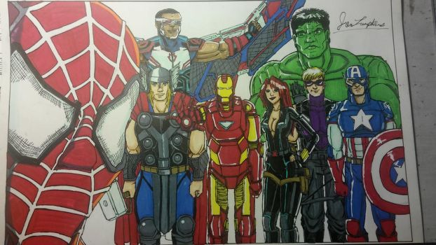 The Avengers. by Sanctuary99