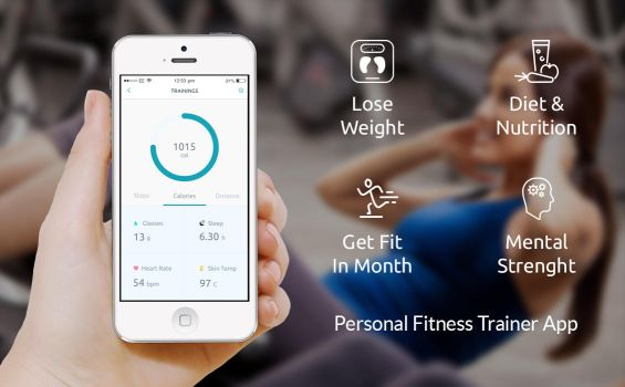 Fitness Mobile Application by hamzahamo