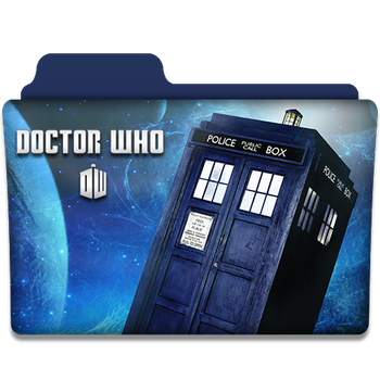 Doctor Who : TV Series Folder Icon v1 by DYIDDO