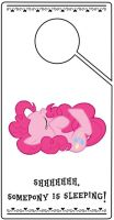 Pinkie Pie Door Hanger by pinoymb3
