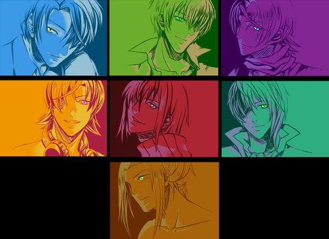 AS color portraits by ChiNoMiko