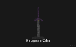 The Legend of Zelda: Master sword Wallpaper by Kamaltmo