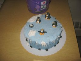 Penguin Cake by TheShiftyAdvisor