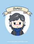 Sherlock  Bored by caycowa