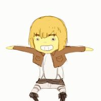 What the fuck are you doing, Armin by MissisSmith