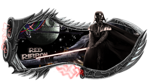 Darth Vader - RedRibbon by curvinho