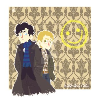 Sherlock and John by MargheritaCresti