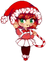 Feb 3 Chibi Pixel by Krissmas-eve